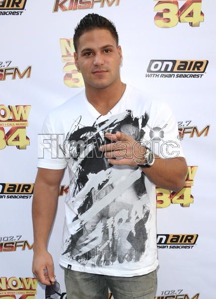 jersey shore ronnie hair. Ronnie Magro: KIIS-FM#39;s Now 34