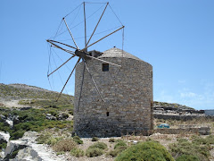 windmill in naxos