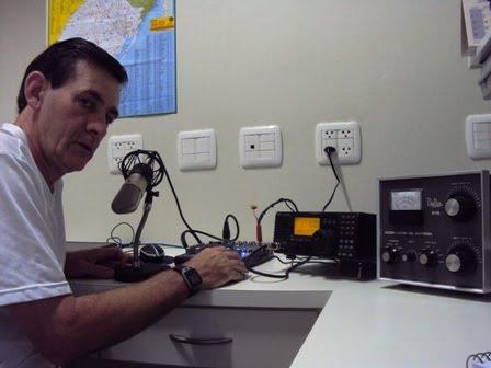 AGOSTINI - PP5ZE em sua estação com o IC-718