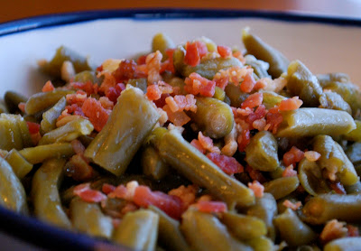 Easy Green Beans with Bacon