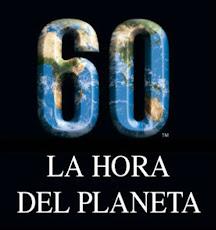 60 Minutos para que respire nuestro Planeta