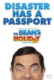 Poster oficial Vacanta lui Mr'Bean (Mr Bean's Holiday