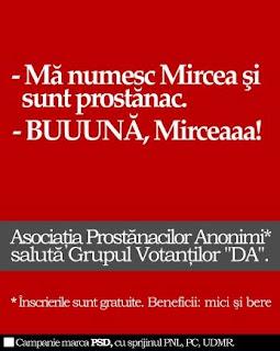 Traian Basescu i-o da lui Geoana