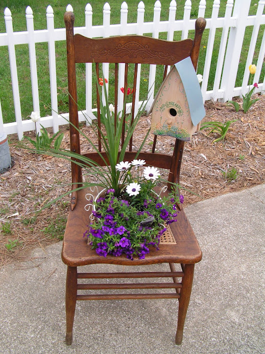 My first Garden Chair