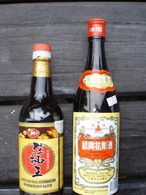 soy sauce and rice wine