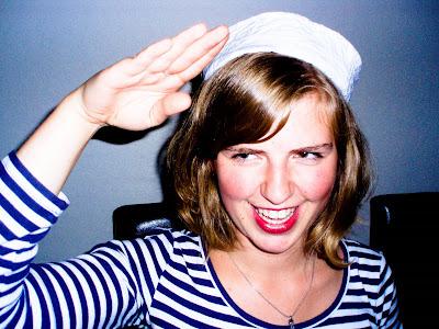 sailor salute