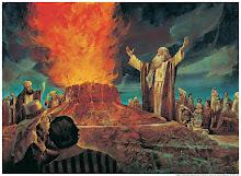 Elias enfrenta os sacerdotes de Baal