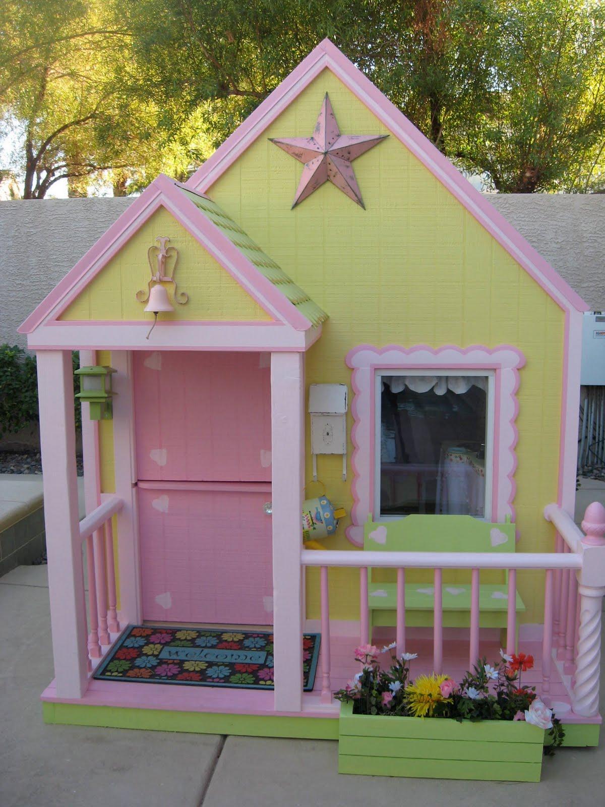 Girls Playhouse Plans