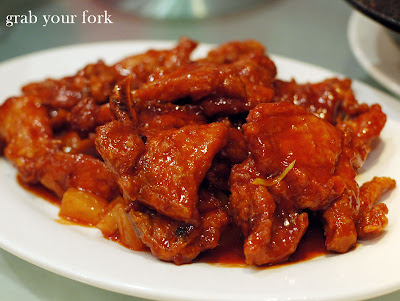 baked pork chop peking style $ 14 80 baked pork