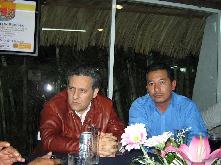 En la Cena de Fin de año Diciembre 31 del 2008