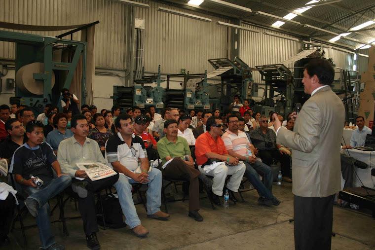 Instalaciones del Diario Milenio Veracruz.