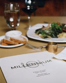Millenium Restaurant in San Francisco