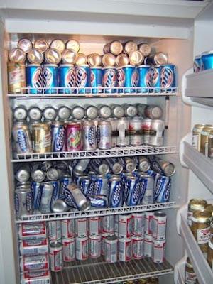 Image result for fridge full of beer