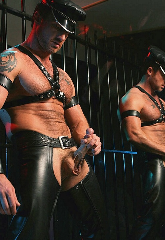 from Andy gay leather studs