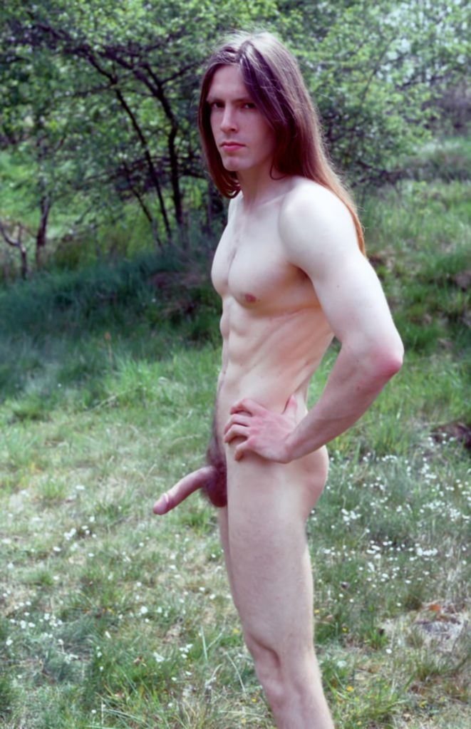 longhair gay male nude