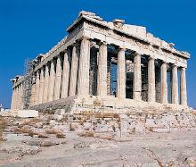 El Partenón. Acrópolis de Atenas.