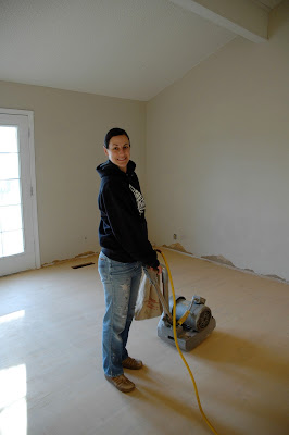 Remodelaholic   How To Finish Solid Wood Flooring; Step by ...