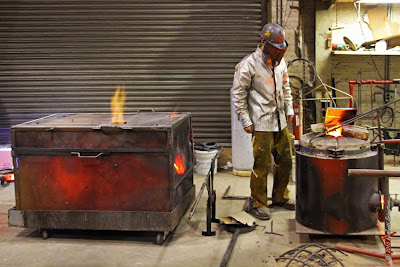 molten metal essay The greeks had been working metal long before the first coins were struck,  to  produce blanks of appropriate weight, molten metal was poured into open or.