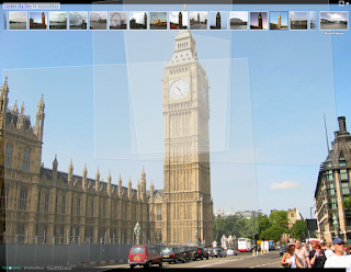 Big Ben in Street View