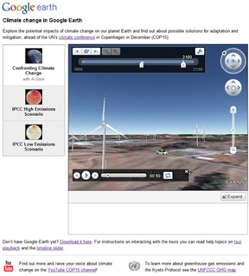 Google Earth Climate
