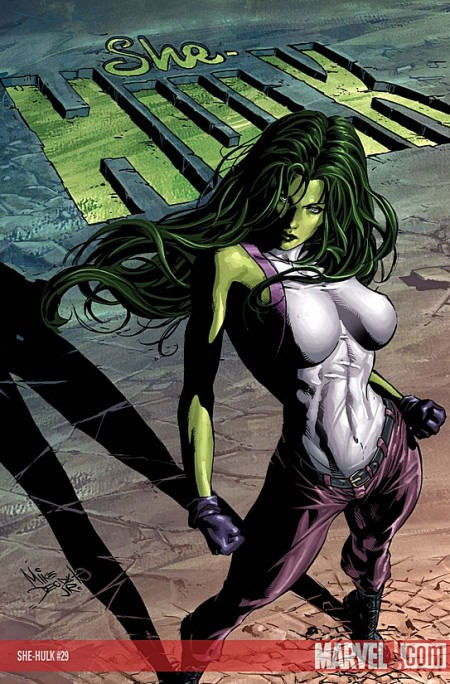 Over the years, She-Hulk has developed a pair of breasts to rival ...
