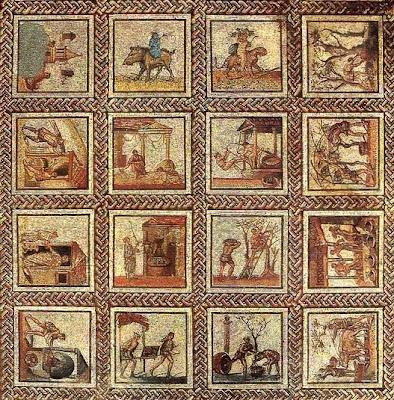 plantes des jardins et des chemins des mosa ques racontent saisons et travaux st romain en gal. Black Bedroom Furniture Sets. Home Design Ideas