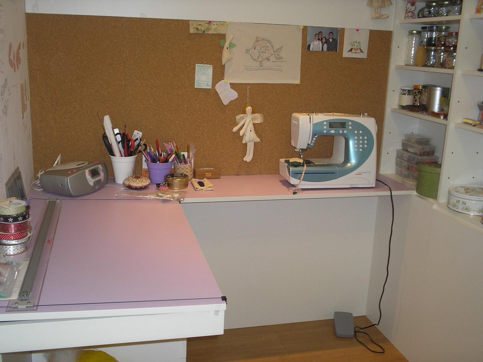 Coisas de madame juju meu ateli - Mesas para costura ...