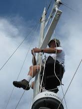 Dave aloft