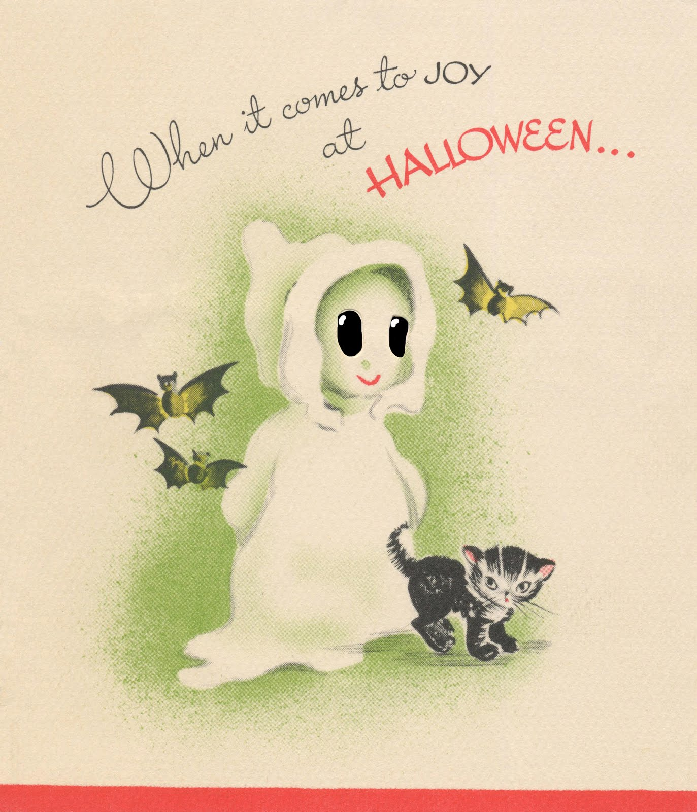 Vintage Halloween Birthday Cards – Execid