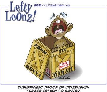 obama shipped back to Kenya cartoon