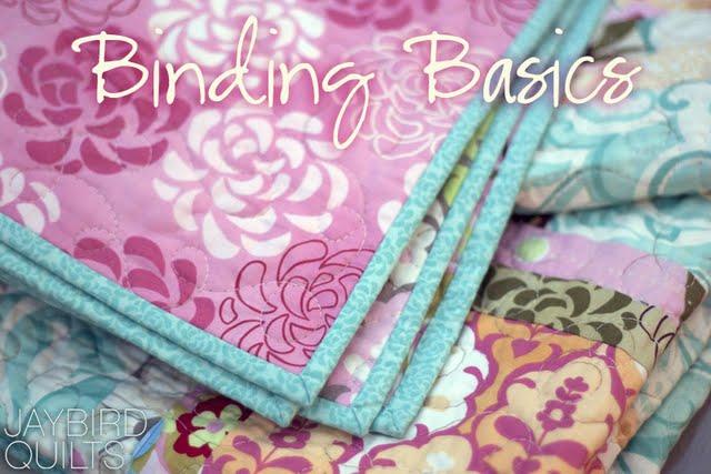 Quilt Binding Basics - Part 1 | Jaybird Quilts : how to bind a quilt video - Adamdwight.com