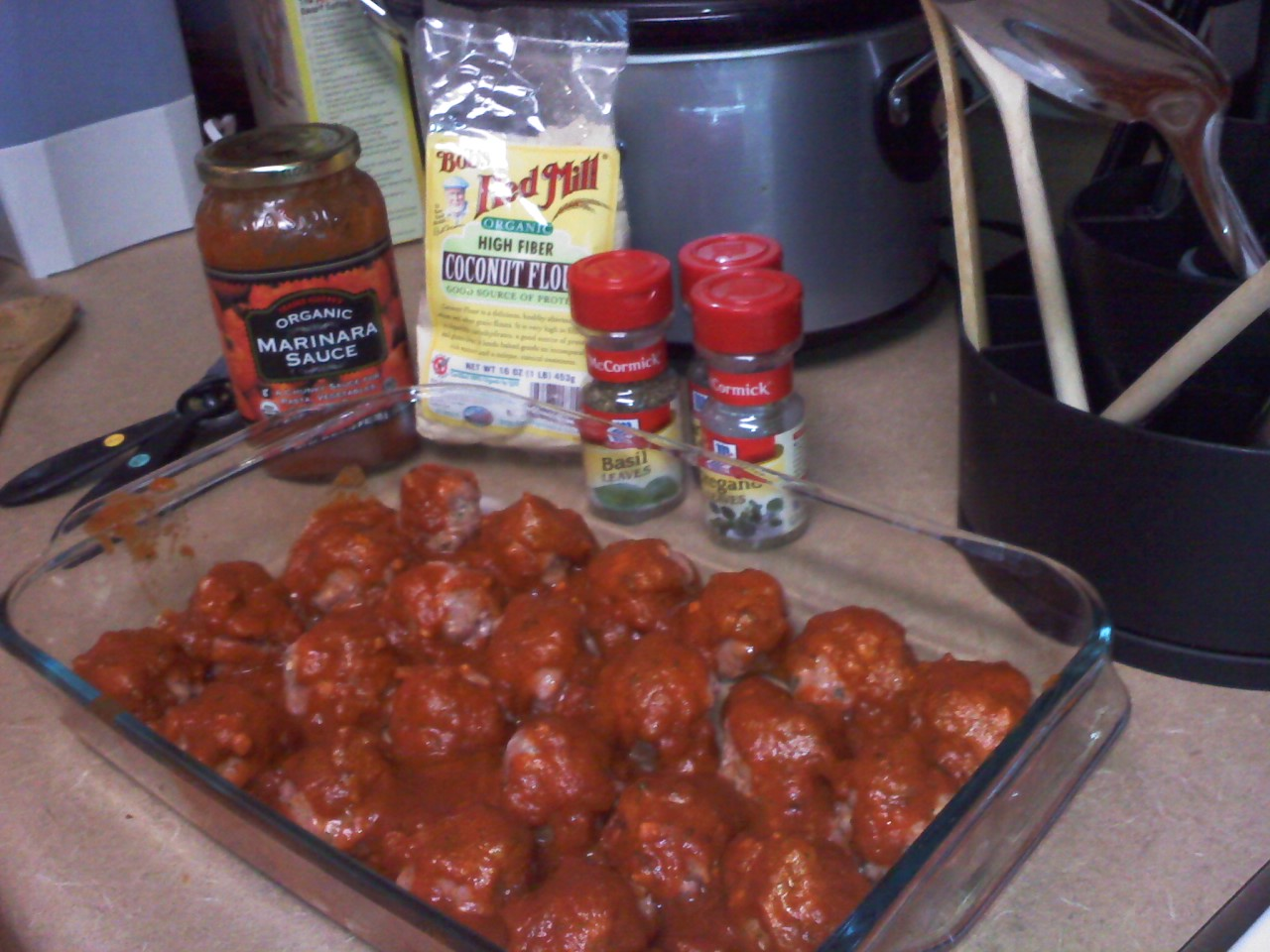 Homemade Meatballs with Sauce