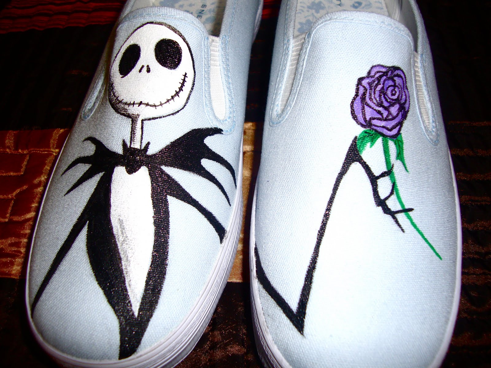 Vans-Gogh: Hand-Painted Shoes: Custom Order Shoes for Girls