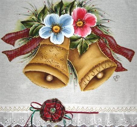 Detalhe Especial Desse    O Fuxico Que Fiz   Fita De Natal   Mais