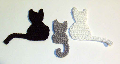 Ravelry: Cat Applique Crochet Pattern pattern by Aneta Izabela
