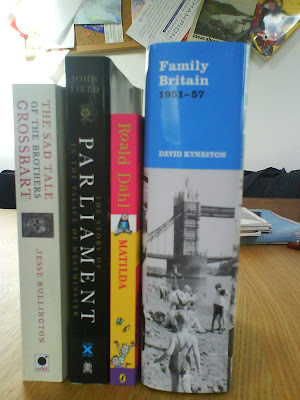 Books I finished in January 2010