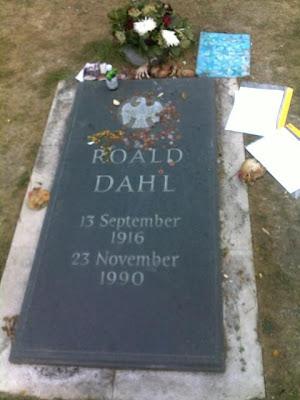 Grave of Roald Dahl