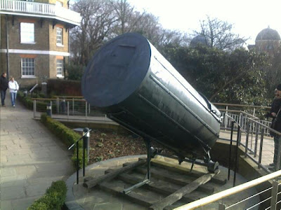 William Herschel's 40-foot telescope, Greenwich