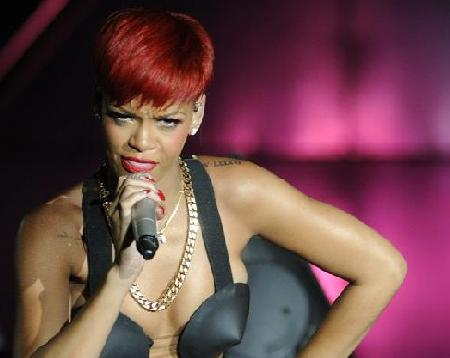 rihanna red hair. rihanna red hair now. new