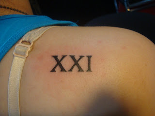 Sin city tattoos xxi xxi 21 is the magic number stopboris Gallery