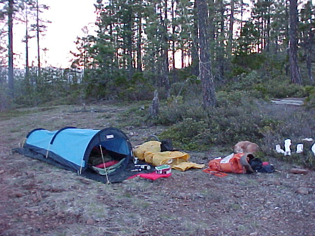 1. Small Tent & Going fast getting nowhere: Camping Taxonomy