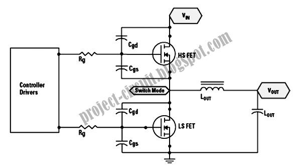 electronics technology  synchronous buck converter circuit