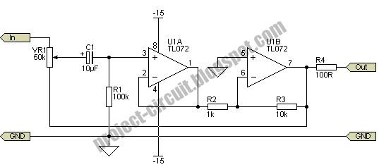electronics technology  volume and balance controls