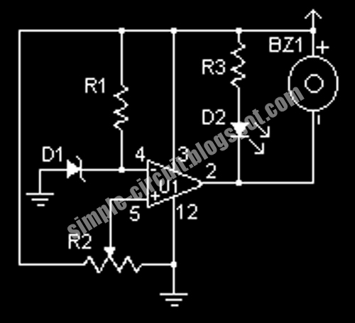 simple audio lifier circuit on simple circuit schematic design