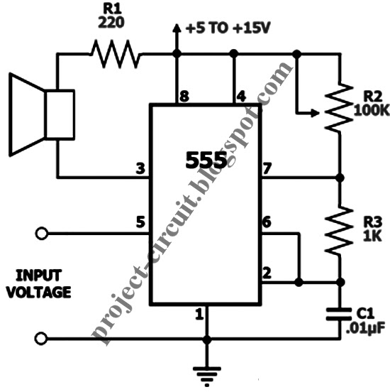 electronics technology  555 timer voltage controlled