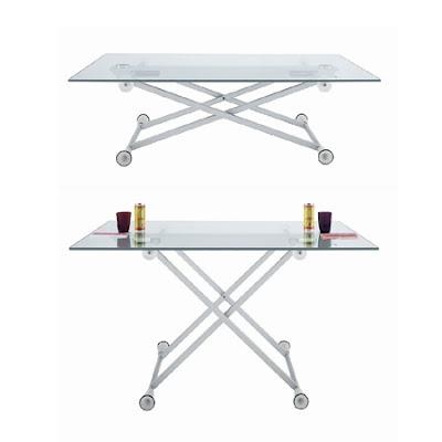 2 mesas por 1 mesa de centro elevable y extensible mesa for Mesa urban ramiro tarazona precio