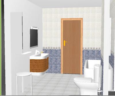 Dise a y planifica planificador de ba o 3d dibanet for Disena tu habitacion