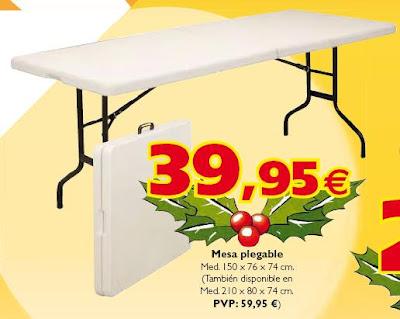 Mesa plegable carrefour las mejores ofertas compra online - Carrefour menaje hogar ...