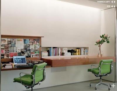 Marzo 2009 for Long narrow office layout