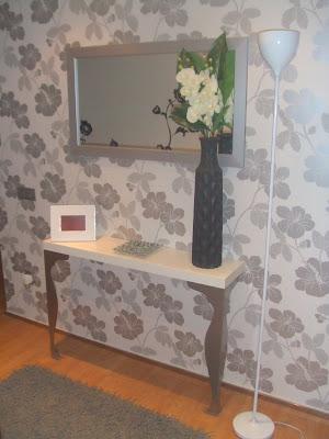 Concurso recibidores 39 09 el recibidor de cari - Papel pintado para recibidores ...